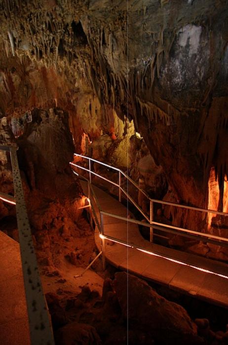 New Athos cave Abkhazia Georgia Iverian mountain Caucasus mountains 0