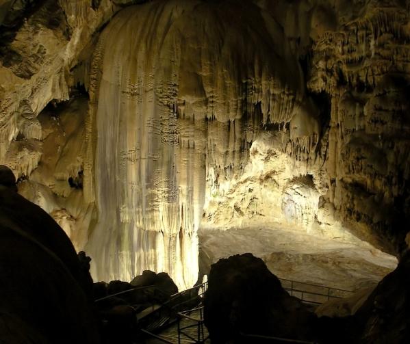 New Athos cave Abkhazia Georgia Iverian mountain Caucasus mountains 1
