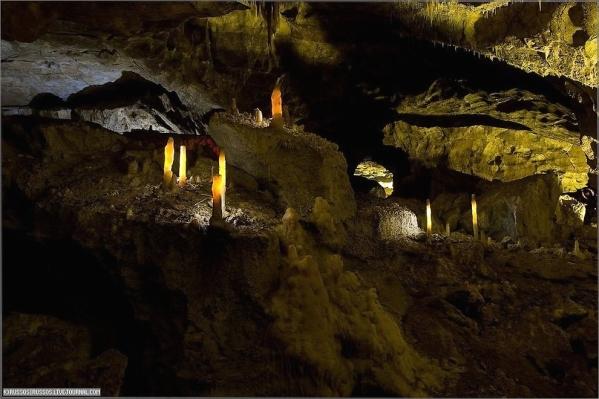 New Athos cave Abkhazia Georgia Iverian mountain Caucasus mountains 5