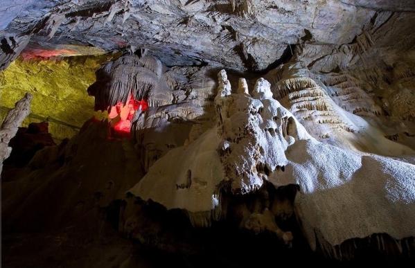 New Athos cave Abkhazia Georgia Iverian mountain Caucasus mountains 6