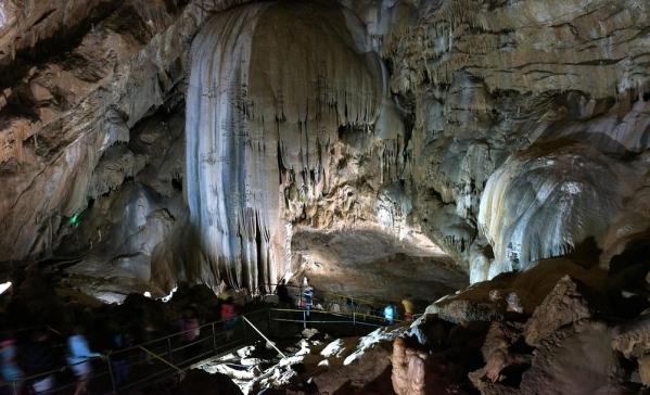 New Athos cave Abkhazia Georgia Iverian mountain Caucasus mountains 7