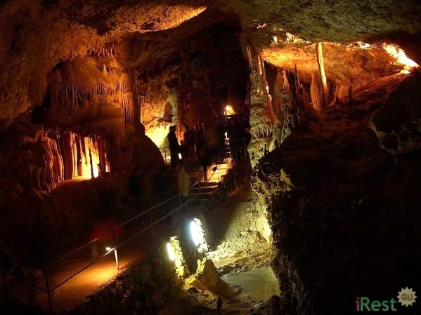 New Athos cave Abkhazia Georgia Iverian mountain Caucasus mountains 8