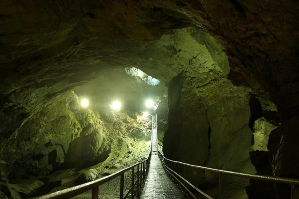 New Athos cave Abkhazia Georgia Iverian mountain Caucasus mountains 9