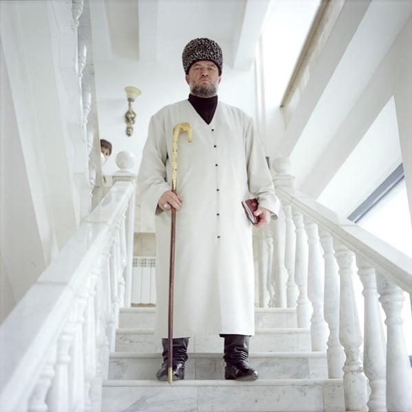 Shamkhan Hadji Khamadov, 56, the Kharachoi clan, Grozny, Chechnya