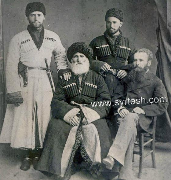 North Caucasus dress Chechnya people chechen men chechens archive photos