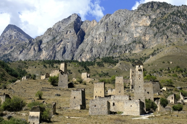 North Caucasus Ingushetia Egikal Tsey Loam Caucasus mountains Nakh