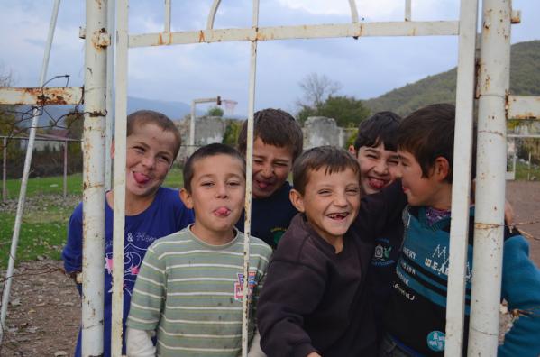 Pankisi Georgia kist chechen children North Caucasus people