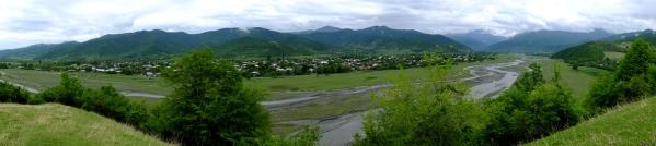 Pankisi valley gorge Georgia North Caucasus