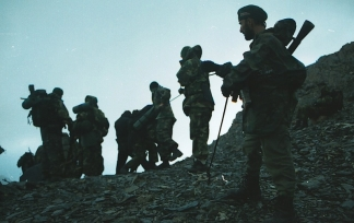 Roddy Scott last pictures chechen rebels militants Caucasus mountains 3
