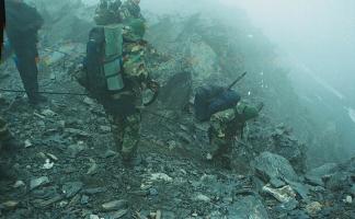 Roddy Scott last pictures chechen rebels militants Caucasus mountains 5