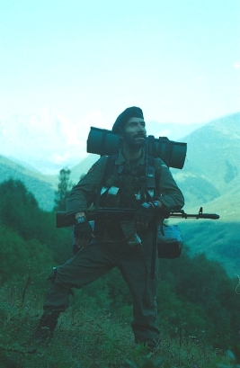 Roddy Scott last pictures chechen rebels militants Caucasus mountains 6