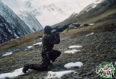 Roddy Scott last pictures chechen rebels militants Caucasus mountains 9