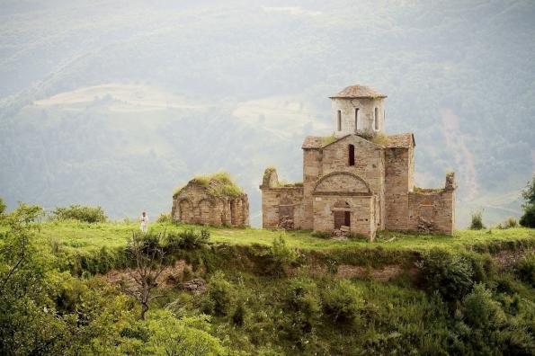 Sentinsky church North Caucasus christianity