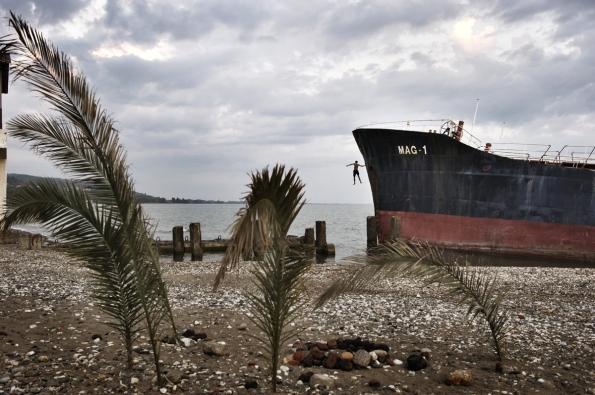 Abkhazia beach paradise lost abandoned cities Georgia Russia
