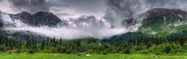 Caucasus mountains Caucasian Biosphere Reserve Adygea mountains beautiful landscape