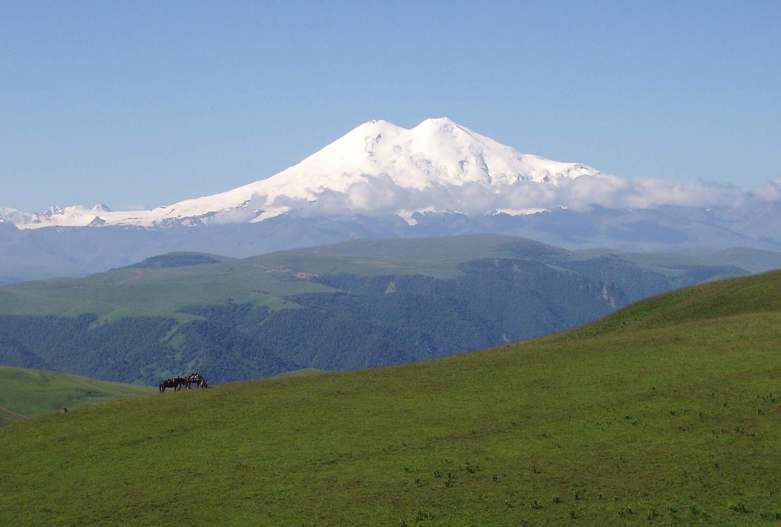 mount elbrus  North Caucasus Land