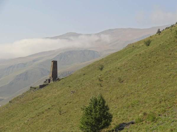 Ichalcu Chechnya tower Chechens North Caucasus mountains Vainakh eastern europe