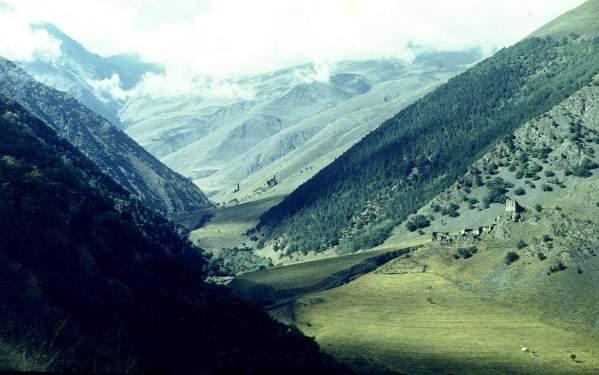 Ikalchu Chechnya north Caucasus mountains