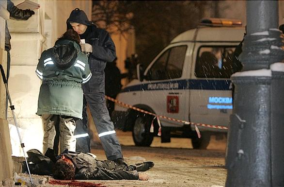 Мелитополя жилого дома в центре города подъезда убит заместитель руководителя одного из местных предприятий