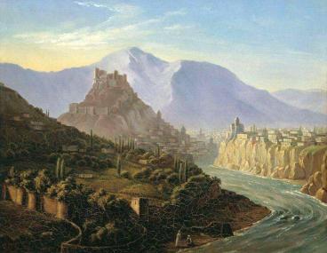 1837 Mikhail Lermontov Georgia