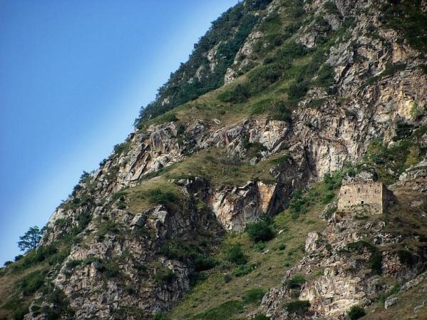 Boziev castle ruins