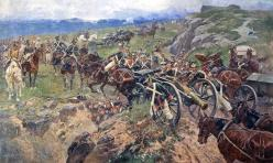 Franz Roubaud - The Living Bridge Russian Caucasian wars