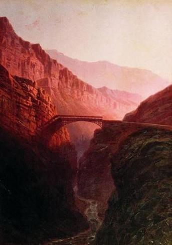 Ilya Zankovsky North Caucasus bridge landscapes