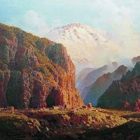 Caucasus - XIX century paintings
