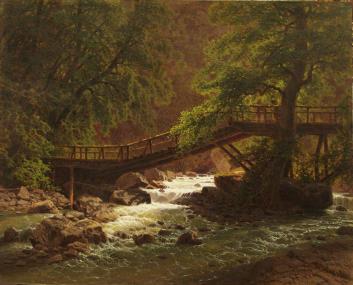 Ilya Zankovsky North Caucasus paintings landscape