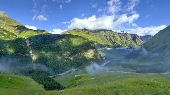 Kabardino-Balkaria caucasus mountains beautiful natural landscape eastern europe