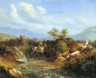 Mikhail Lermontov North Caucasus people paintings