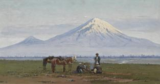 Richard Karlovich Zommer Mount Elbrus