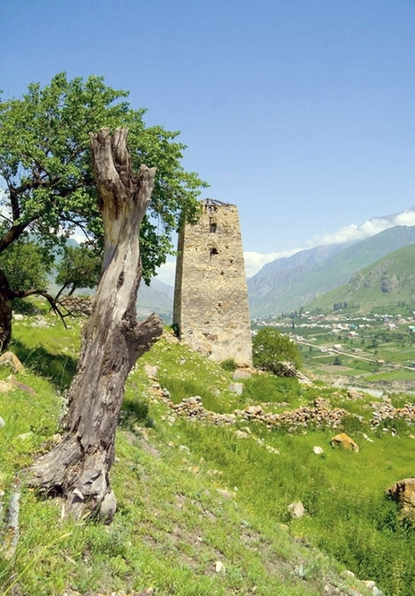 Upper Balkaria Abayeva caucasus mountains beautiful natural scenery