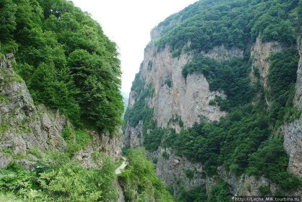 Upper Balkaria Cherek canyon caucasus mountains natural landscapes
