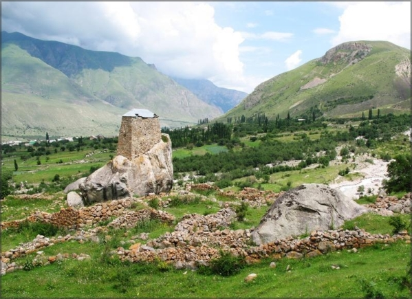 Upper Balkaria Kabardino-Balkaria caucasus mountains beautiful l scenery