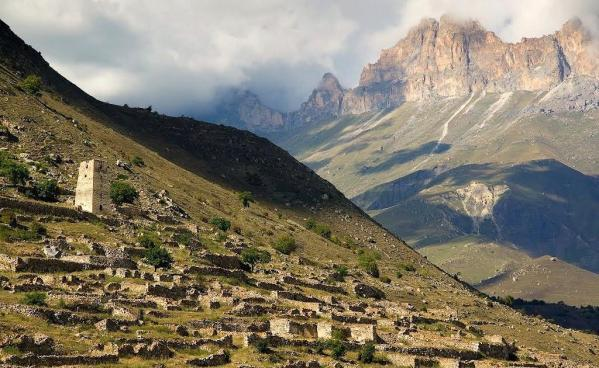 Upper Balkaria Kabardino-Balkaria north caucasus beautiful natural landscapes
