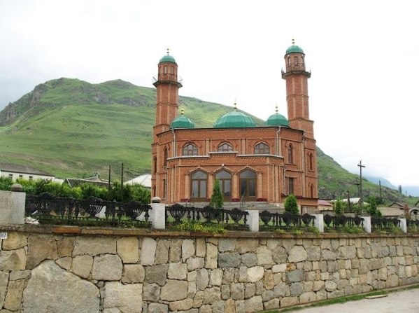 Upper Balkaria mosque north caucasus