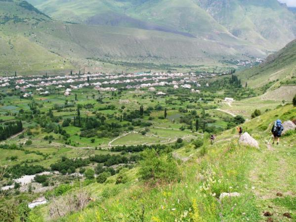 Upper Balkaria north caucasus mountains beautiful natural landscapes