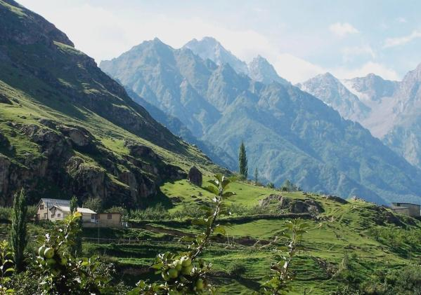Upper Balkaria villages caucasus mountains beautiful natural scenery