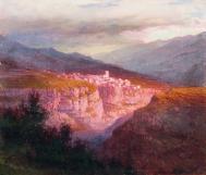Zankovsky Gunib Dagestan painting