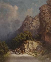 Zankovsky North Caucasus paintings