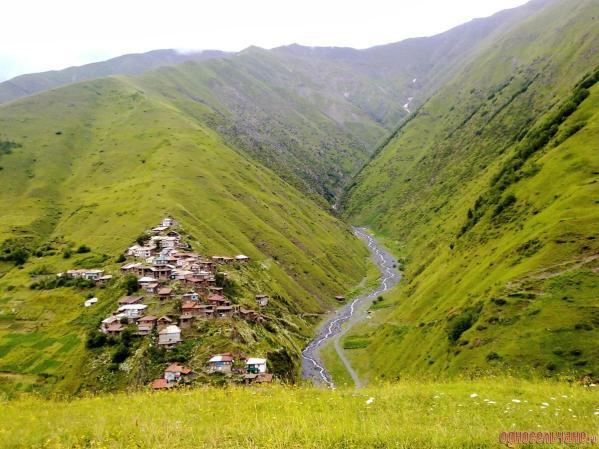 Görele Tlyaratinsky Dagestan mountains north Caucasus .