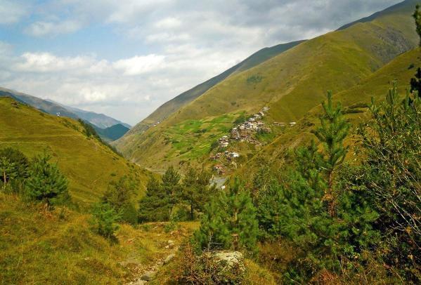 Gorele Dagestan north Caucasus mountains
