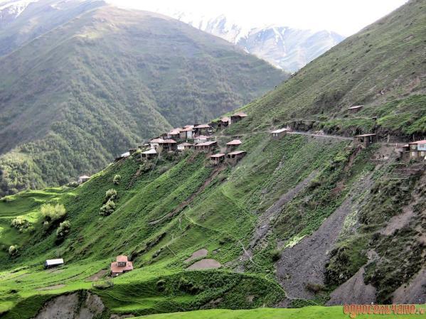 Salda Dagestan mountains north Caucasus