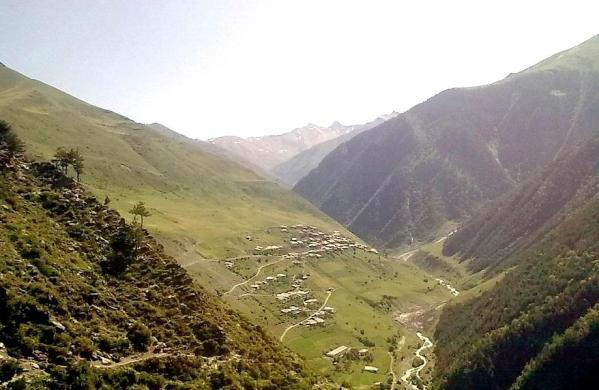 Tlyaratinsky Dagestan Caucasus mountains