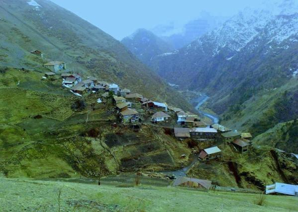 Tlyaratinsky village Dagestan Caucasus mountains