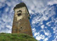 Kistani tower Khevsureti medieval Georgia north Caucasus mountains