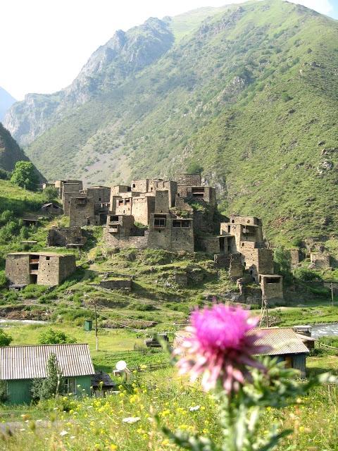 Shatili Khevsureti medieval Georgia Caucasus mountains